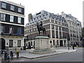 TQ2881 : Sir George Stuart White on Portland Place by Gareth James