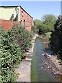 SP0886 : River Rea from Fazeley Street bridge by David P Howard