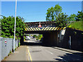 TQ5892 : Railway bridge over Kavanaghs Road by Robin Webster