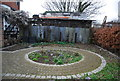 TQ3679 : Herb garden, Surrey Docks Farm by Nigel Chadwick