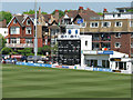 TQ2905 : Hove: the east side of the County Ground by John Sutton