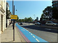 TQ3078 : Notice on Millbank informing people of road closure for Queen's Jubilee by PAUL FARMER