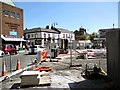 SJ9494 : Market Renewal Work on Clarendon Street by Gerald England