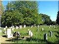 SU4512 : Bitterne churchyard by David Martin