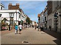 SY6778 : Weymouth Town Centre by Paul Gillett