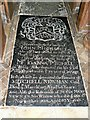 SU0268 : Memorial inside the Church of St Mary, Calstone Wellington by Brian Robert Marshall