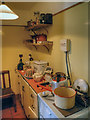 SJ4077 : Porter's Row - Kitchen by David Dixon