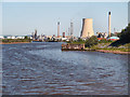 SJ4077 : Manchester Ship Canal, Ellesmere Port by David Dixon