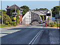 SJ6086 : Chester Road Swingbridge, Lower Walton by David Dixon