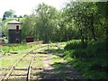 SJ9853 : The former line to Stoke, Leekbrook Junction by Christine Johnstone