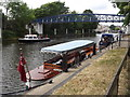 TQ1671 : Amaryllis Above Teddington Lock by Colin Smith