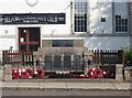 NU1033 : Belford War Memorial by Graham Robson