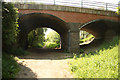 SK7938 : Nottingham Road bridge by Richard Croft