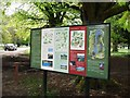 TF8943 : Information board, Holkham Park by John Brightley