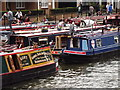 TQ3779 : Diamond Jubilee Thames Pageant Preparations by Colin Smith