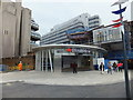 TQ3180 : New entrance to Blackfriars Station by PAUL FARMER
