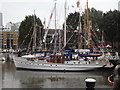 TQ3380 : Flag Day at St Katharine Docks by Colin Smith