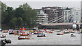 TQ2777 : Rowing boats, Jubilee Pageant by Oast House Archive