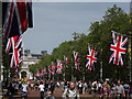 TQ2980 : Diamond Jubilee Weekend on The Mall by Colin Smith