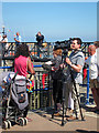 TQ6401 : Interviewer at Sovereign Harbour by Oast House Archive