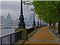 TQ3180 : London - Thames Footpath by Chris Talbot