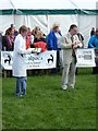 NY9963 : Alpaca judging, Northumberland County Show, 2012 by Oliver Dixon