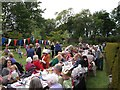 NG2448 : Dunvegan Castle Diamond Jubilee Tea Party  by Richard Dorrell