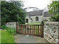 SK9232 : St Guthlac's Church, Little Ponton, Gate by Alexander P Kapp
