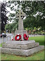 TQ0175 : The War Memorial at Horton by Ian S