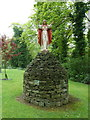SJ9993 : Church of the Immaculate Conception, Charlesworth, Statue by Alexander P Kapp