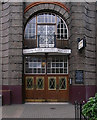 TQ3081 : Entrance, Conway Hall, Red Lion Square by Julian Osley