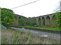 SK0581 : Converging viaducts at Chapel Milton by Alexander P Kapp