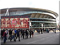 TQ3185 : Highbury: the Emirates Stadium by Chris Downer