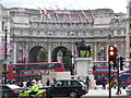 TQ3080 : London: looking across Charing Cross by Chris Downer