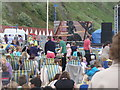 SZ0990 : Bournemouth: watching the London Jubilee pageant by Chris Downer