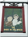 SE2624 : The Babes in the wood, Soothill Lane by Ian S