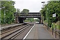 SJ2992 : Groveland Road bridge, Grove Road Station, Wallasey by El Pollock