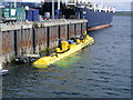 HY4412 : SR250 Tidal Turbine moored at Hatston Pier by A McCarron