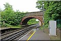 SJ3774 : Bridge, Capenhurst Railway Station by El Pollock