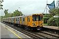 SJ3774 : Service to Chester, Capenhurst Railway Station by El Pollock