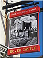 TQ3104 : Sign for The Dover Castle, Southover Street / Islingword Street, BN2 by Mike Quinn