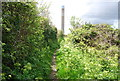 TQ8875 : Bridleway to the power station by Nigel Chadwick
