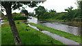 SU8601 : Flooding on the Main Road Hunston : Week 24
