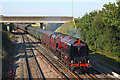 SU5291 : Steam Train at Didcot North Junction by Wayland Smith