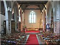 TL6001 : Interior of St. Laurence church, Blackmore, Essex by Derek Voller