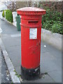 TQ3204 : Victorian postbox, Freshfield Road, BN2 by Mike Quinn