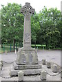 SK7694 : The War Memorial at Misterton by Ian S