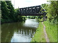 SJ7995 : Railway bridge over Bridgewater Canal by Alexander P Kapp