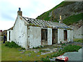 NX0299 : Old Tea Room on Ailsa Craig by Mary and Angus Hogg