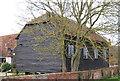 TQ0830 : Barn, Garlands by N Chadwick